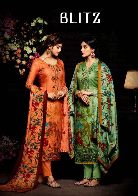 24f5d436c7 Sargam prints presenting blits simple casual Digital printed Salwar kameez  collection