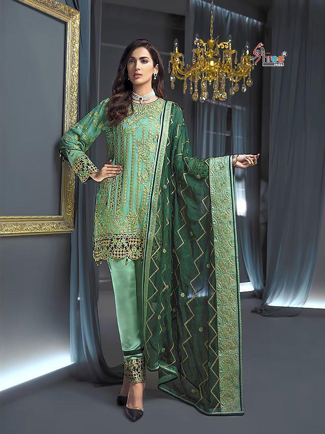 1ab47a28e1 Surat Textile Hub Shree fabs presents ramsha exclusive eid collection  salwar kameez catalog | Surat Textile Hub
